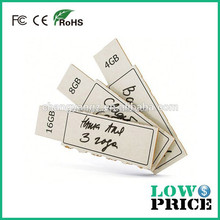 Hot Sale Free Sample plastic paper clip usb flash drive for Promotional Gift