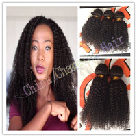 3pcs lot mongolian kinky curly hair bundles afro kinky curly hair weave virgin mongolian kinky curly hair extensions