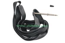 Road bike tube TBK-FV80-R23 presta valve 80MM butyl rubber material with inner box package