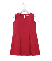 2015 latest summer fashion dress high quality children clothes 100% cotton sleeveless girl dresses