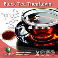 Black Tea Extract, 10-40% Theaflavin HPLC