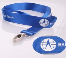 personalized cheap silk screen printed lanyards