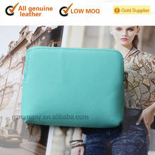 genuine leather many color for choices with zipper around top grade quality women/mini/small/change wallet- 565-3