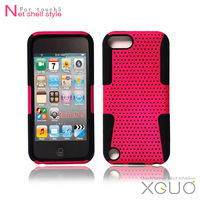 Best product Back cover for ipod touch 5 cover,Net shell style for touch5 case