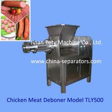 turkey meat deboning machine for intensive processing frozen turkey carcasses