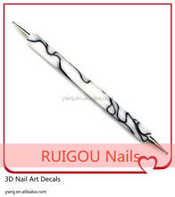 IMG 6353 Popular Professional 1000pcs Nail Art Dotting Pen Nail Drill Pen