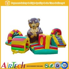 Funny inflatable combo games for child
