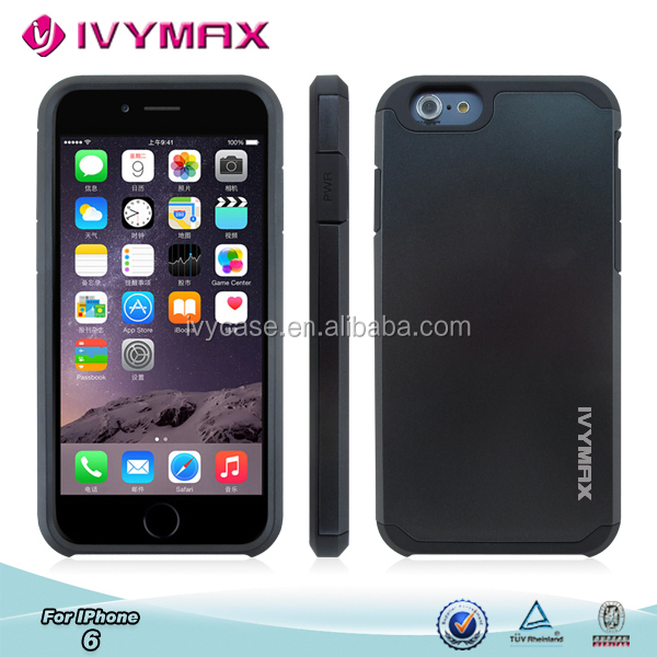 new design 2014 extreme protection slim armor case for iphone 6 plus
