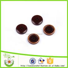 Forma redonda y botones tipo de producto botón de madera