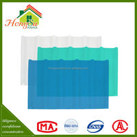 Best selling products non-conductive transparent roof tile clear tile
