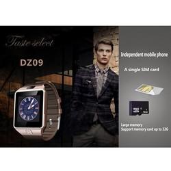 DZ09 single sim card kids gps android watch mobile phone