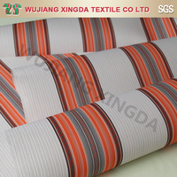 Easy to clean 100 poly spun canvas fabric