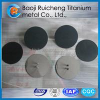 multi-layer sintered titanium mesh anode used for sewage treatment