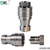 KZF liquid quick connector stainless steel / hydraulic quick coupling