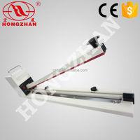Hongzhan HI450/600/750/900/1000 portable extra long sealing line hand press impulse hand held plastic bag sealer machine