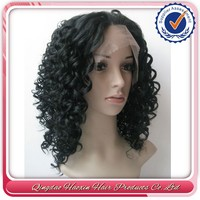 No Tangle No Shedding brazilian human hair nice curly elsa wig
