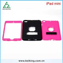 Hard Case for ipad mini, for ipad mini stand silicone case, shockproof stand case for ipad mini 1 2 3