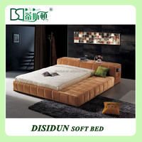 Factory Price King Size Bed Hotel Bedroom Furniture For Sale DS-B09