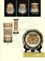 Cupidon painting porcelain set,porcelain decoration,porcelain vase(B50776)