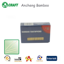 AnCheng factory cheap non plastic dental toothpicks/bamboo products