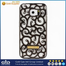 [NP-2243]Royal Court Flower Phone Case for Samsung S6 edge