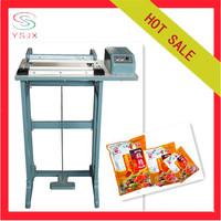 Plastic bag sealer pedal bag sealing machine