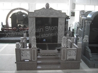 shanxi black large monument slab cheap granite tombstone headstone monument