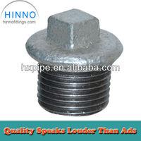 G.I. hex head thread pipe end Plug