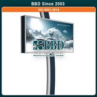 Nice design stable outdoor prefab steel sign billboard