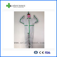 Fire retardant safety nonwoven disposable work suits