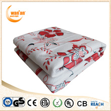 Polyester Printed Fashional Electric Blanket