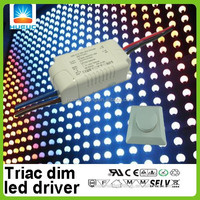 700mA 34V Practical version triac dimmable 9W low power led driver