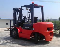 3.0 ton Forklift ISUZU Engine Automatic 3 ton Diesel Forklift