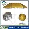 170T nylon with silver coating with w/steel tent peg,Nylon bag 1.8M Beach Umbrella
