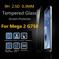 Tempered Glass Factory price for Samsung Galaxy Mega 2/G750/G7508Q Transparent Screen Protector