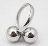 Cute Mirror Polished Jewelry Ring Stainless Steel Cherry Ring