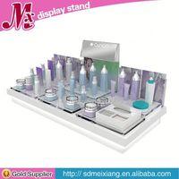 cosmetic acrylic display racks MX2163 3 tier acrylic nail polish display stand