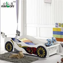 Children Bedroom Furniture bed for boy in car shaped modern home furniture