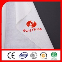polyester cotton blend bleaching white fabric