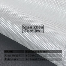 High Clarity and Clean Clear Surfboard Fiber Glass Cloth