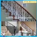 Interior de hierro forjado pasamanos de la escalera/de hierro forjado pasamanos de la escalera