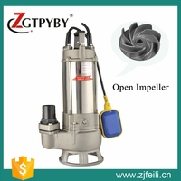 3hp centrifugal submersible water pump mechanical seal industrial water pump