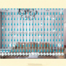 waterproof decorative window crystal beads curtain