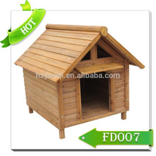 comfortable eco-friendly wooden dog kennel