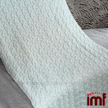 mantas de lana de cachemira de punto