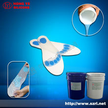 Caoutchouc de silicone liquide pour insloes décision