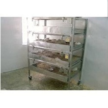 stainless steel guinea pig cage rack (washing)