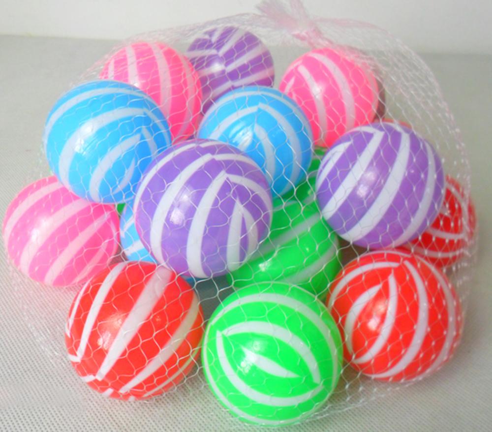 6 cm 20 pcs creux balles en plastique pour enfants piscine for Piscine en plastique