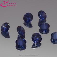 Round brilliant cut 5.0mm tanzanite gemstone