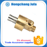 AAA brass pipe fitting monoblock insulating joint water rotary joint